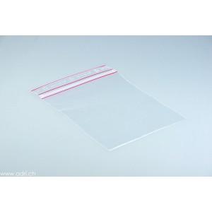 Plastikbeutel mit Schnellverschluss