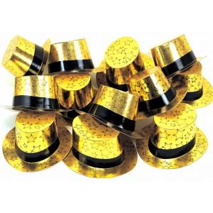 Gold Zylinder 25 Stück