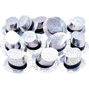Silber Zylinder 25 Stück