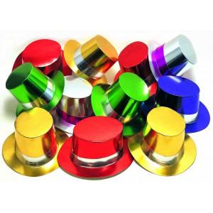 Bunte Zylinder 25 Stück