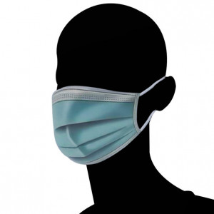 3-Lagen-Maske für das Gesicht  (Packung à 20 Stück)