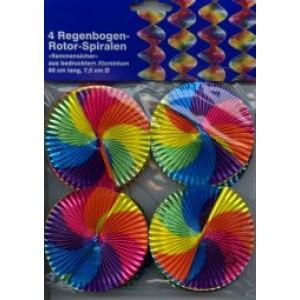 Rotor-Spirale Regenbogen ø 7,5 cm