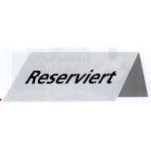 Reservierungs-Schilder