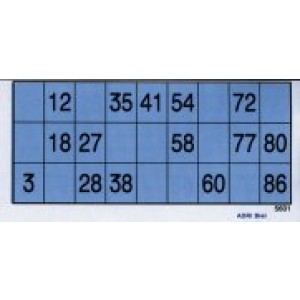 Lottozettel aus Papier  100 Stück