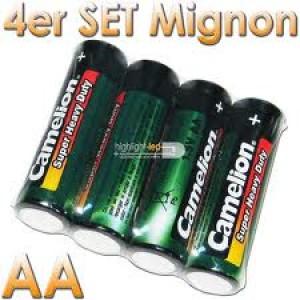 Batterien AA  4 Stück