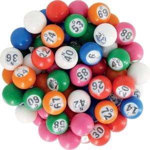 Lottokugeln  18mm