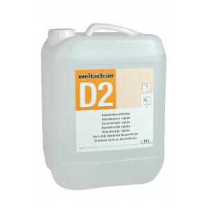 D2 - Schnelldesinfektion (10l Kanister)