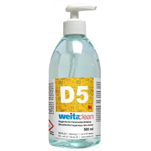 D5 Händedesinfektionsmittel