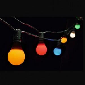 Bunte Lichterketten mit LED 5m