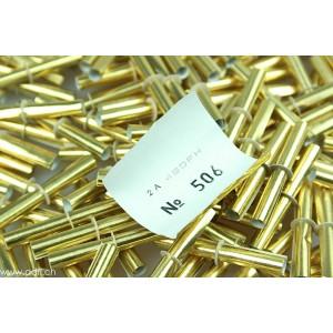 Röllchenlose ganz in gold, nummeriert