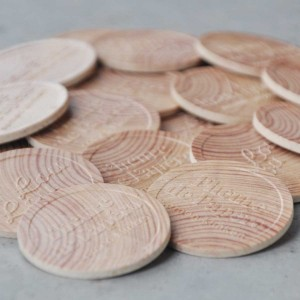 Chips individuell aus Holz