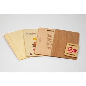 Holzkarten individuell bedruckt