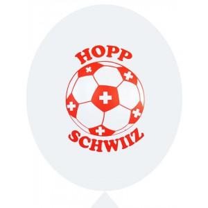 Ballone weiss Hopp Schwiiz