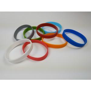 Silikon Armbänder unbedruckt