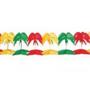 Girlande Palmen