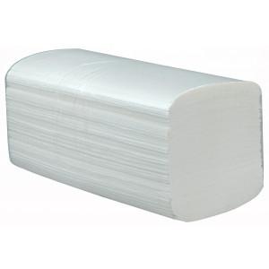 Papierhandtücher Zellulose Hochweiss (V-falz, 2-lagig)