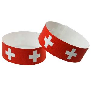 "Tyvek Kontrollband ""Schweiz"""