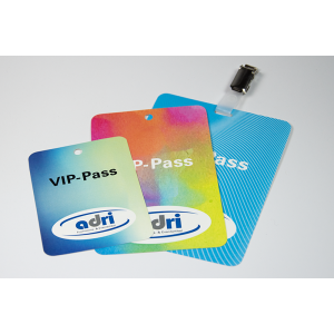 VIP-Pass Polyesterfolie