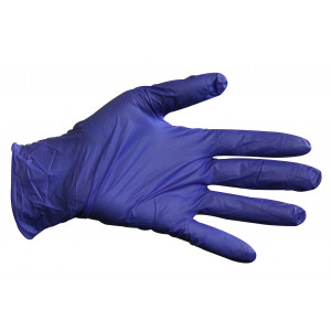 Glove Nitril Ultra Super Soft Indigo