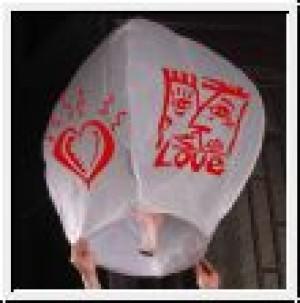 Himmelslaterne Asian-Love