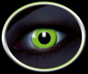 Kontaktlinsen UV grün