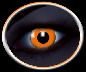 Kontaktlinsen UV orange