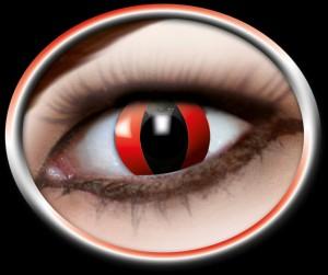 Kontaktlinsen rote Katze
