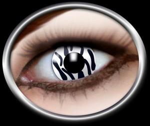 Kontaktlinsen Zebra