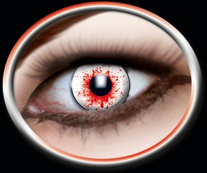 Kontaktlinsen Bloodshot