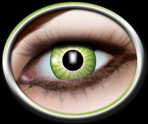 Kontaktlinsen Electro Green