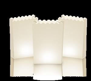 Lichttüten Neutral 5 Stück